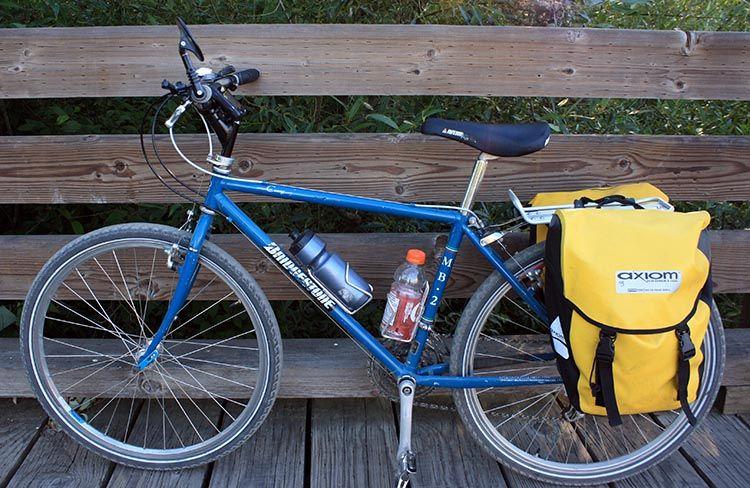 Axiom Panniers Review Commuter Bike Bicycle Bike Panniers