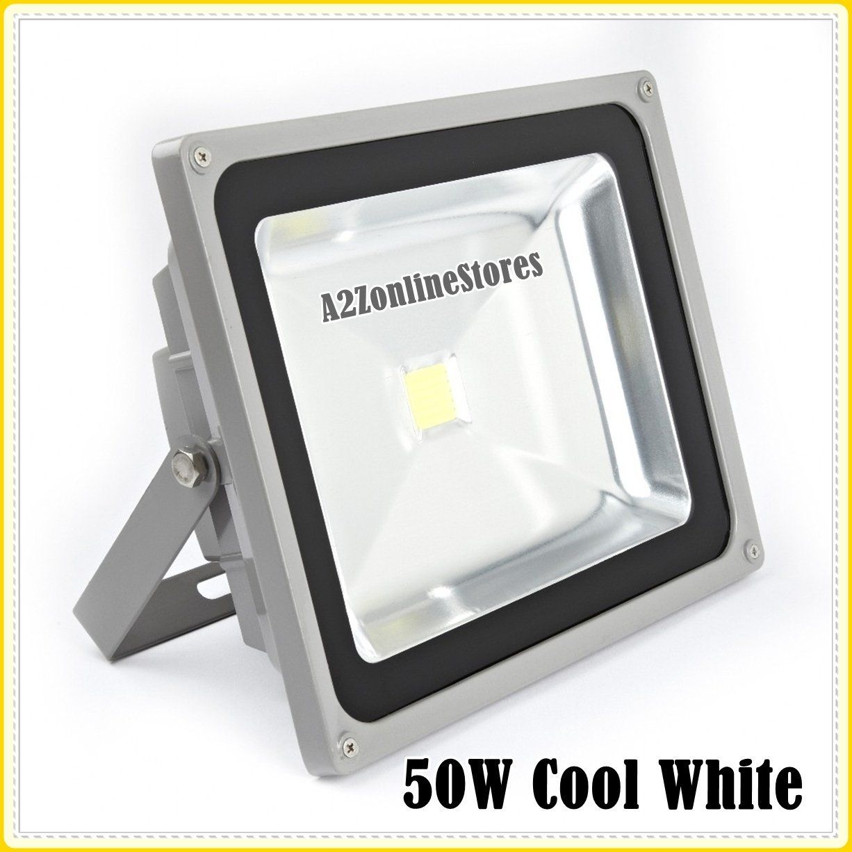 Buy 50W LED Flood Light Cool White Indoor & Outdoor USE