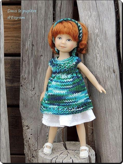 Tuto de la petite robe de Luce | Pattern for Effner\'s Heartstring ...