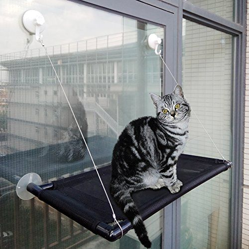 Cat Perch Cat Window Perch Window Cat Perch Hammock Cat Window Hammock Bed Cat Window Seat Kitty Window Sunny Seat Durable Big Pet Perch With Upgraded 4 Big Suc Cat Window