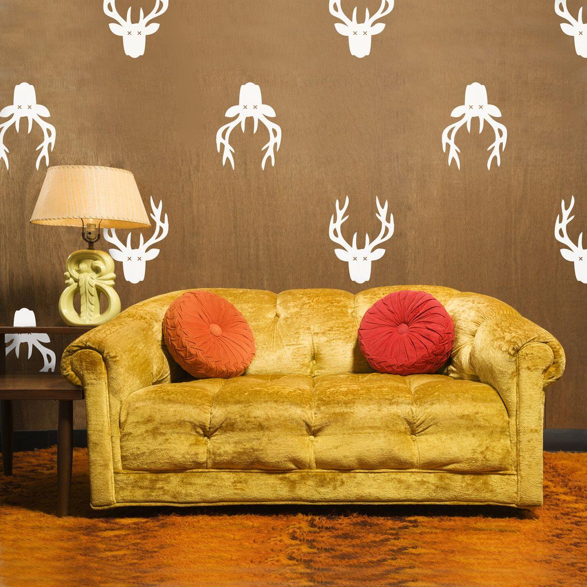 Fab.com   Deer Trophy 13x9.6 White   Home decor   Pinterest