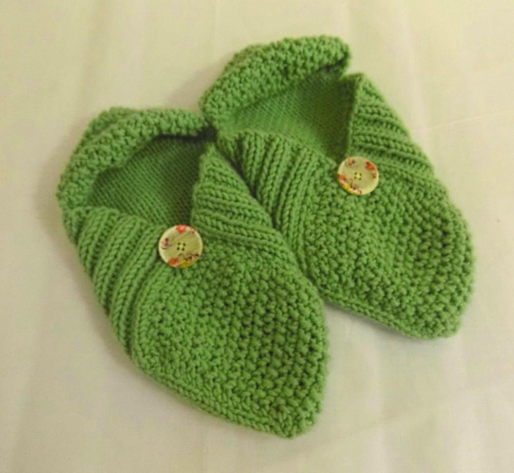 Patchwork Slippers | Cozy Knit Slipper Pattern Ideas | Pinterest ...