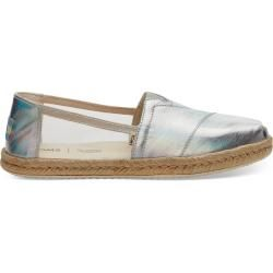 Photo of Toms Shoes Silver Transparent Espadrilles For Women – Size 41 TomsToms