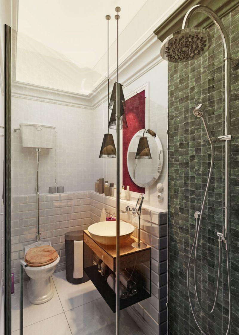 Bad ideen halbbäder  ideen für kleine bäder und badezimmer bilder bader badezimmer