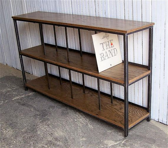 Record Player Stand // Stereo Console // Record Cabinet // Vinyl Record  Storage // Record Stand