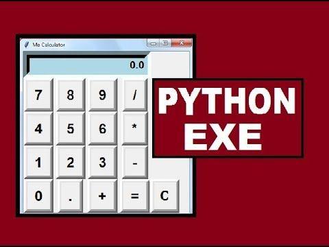 Compile Python Calculator into EXE file YouTube