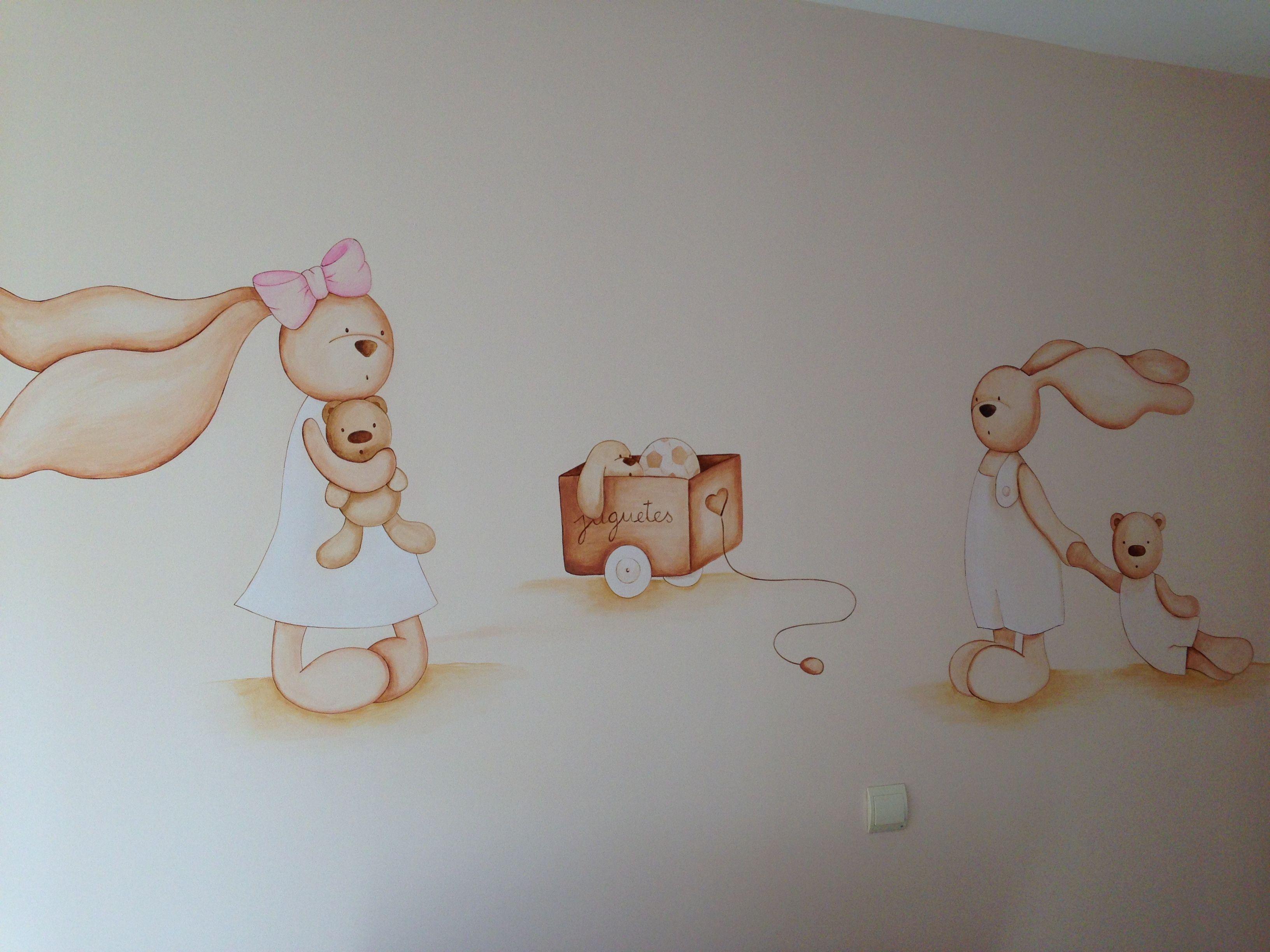 Habitaciones de bebe unicas | Murales pintados | Pinterest | Único ...