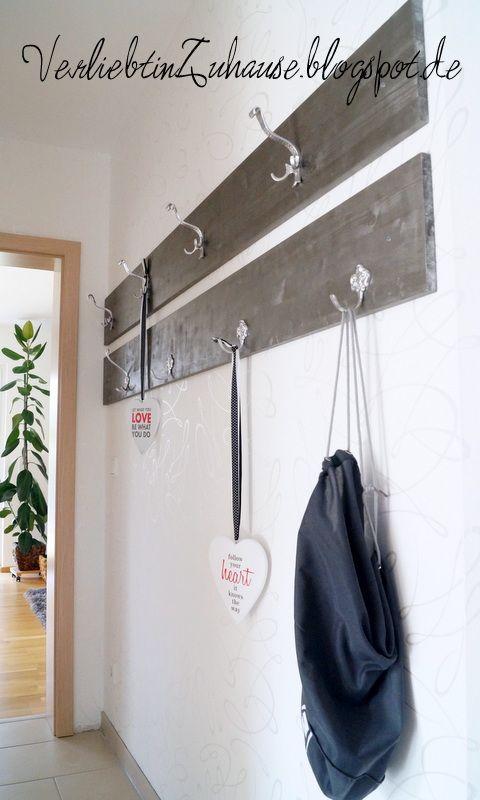 Inspiration Zur Flurgestaltung Und 2 Einfache Garderoben Selber