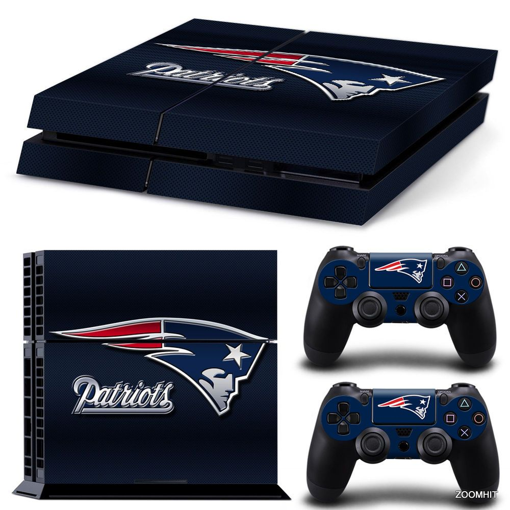 Details About Ps4 Playstation 4 Console Skin Decal Sticker New England Patriots Custom Design Playstation 4 Console Custom Xbox Batman Xbox One