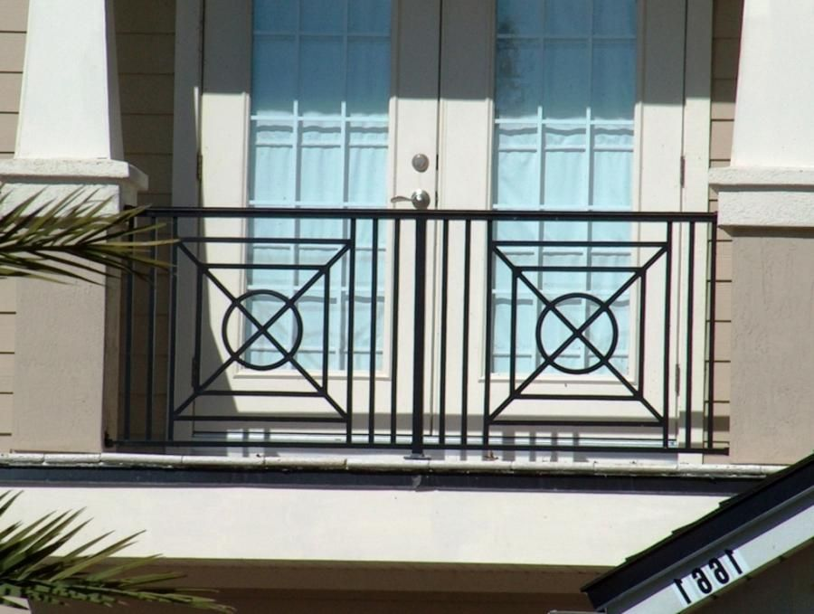 Lovely Balcony Railing Design