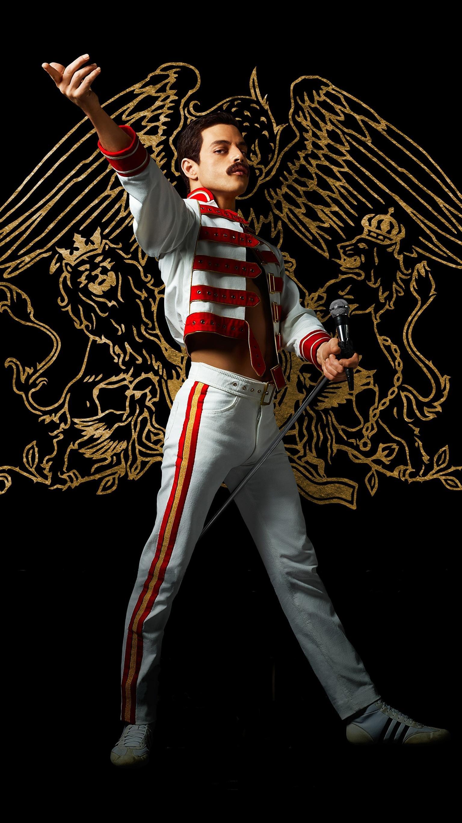 Bohemian Rhapsody 2018 Phone Wallpaper Moviemania Bohemian Rhapsody Queen Freddie Mercury Queen Band