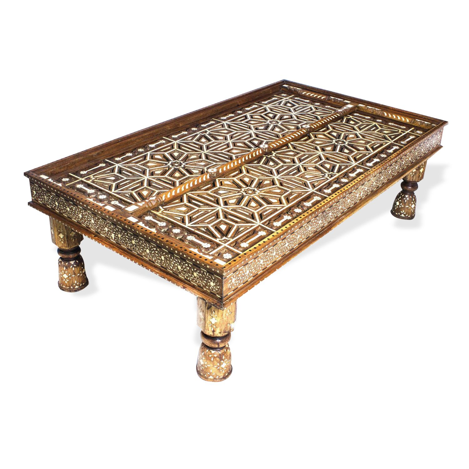 Picture Of Style 3525 Heritage Anglo Indian Coffee Table