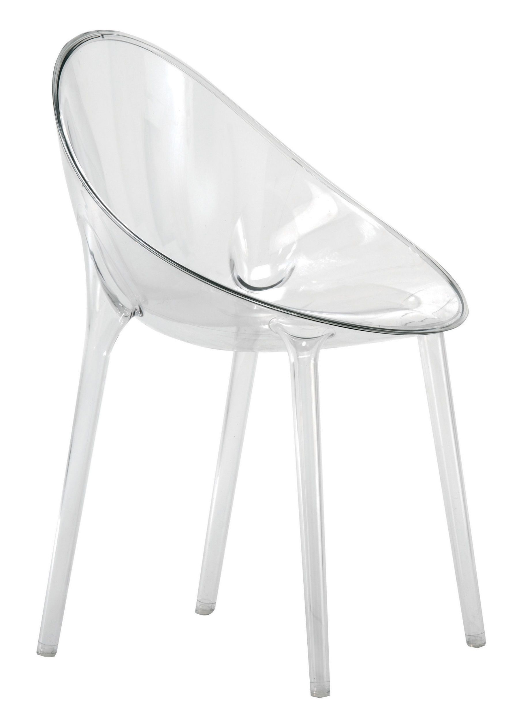 Fauteuil Mr Impossible Kartell Transparent Made In Design En 2020 Philippe Starck Kartell Kartell Chair