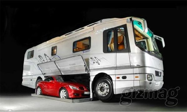 The German Motorhome Specialist Volkner Mobil Has Built Extravagant Motorhomes That Can Take In