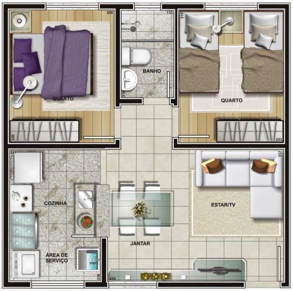 Conhecido planta de apartamento quadrado | hogar dulce hogar | Pinterest  HO53