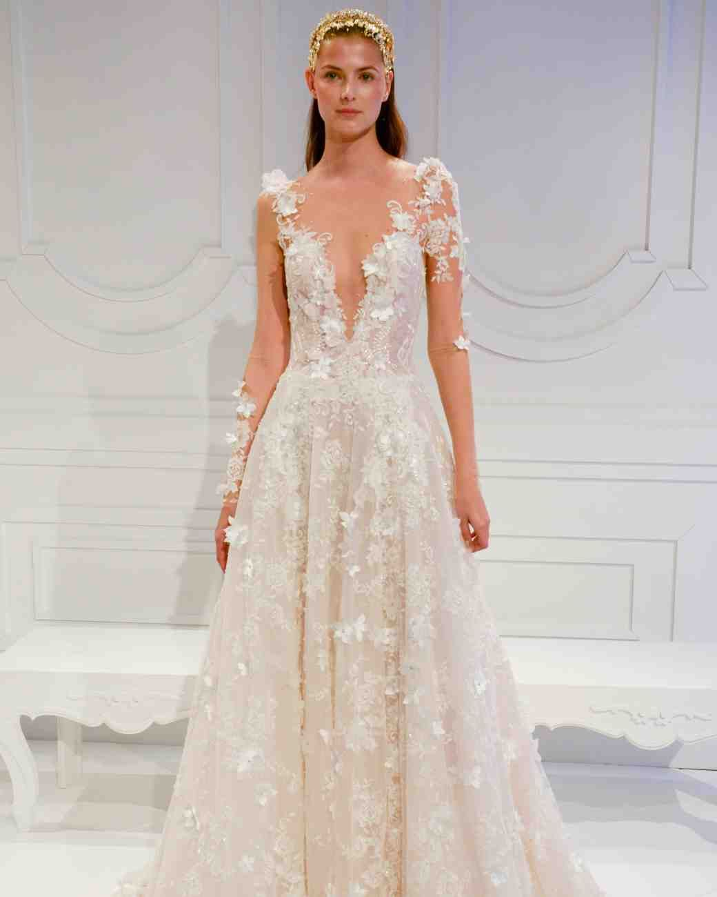 The best wedding dress trends from bridal fashion week martha