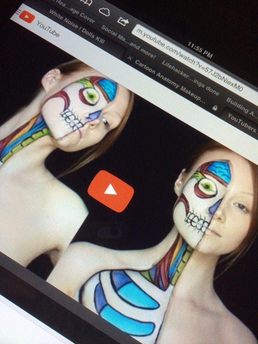Sfx makeup Halloween face makeup, Sfx makeup