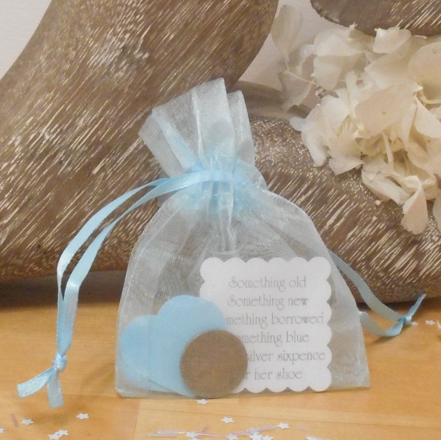 Silver Sixpence Bridal Good Luck Gift Weddings