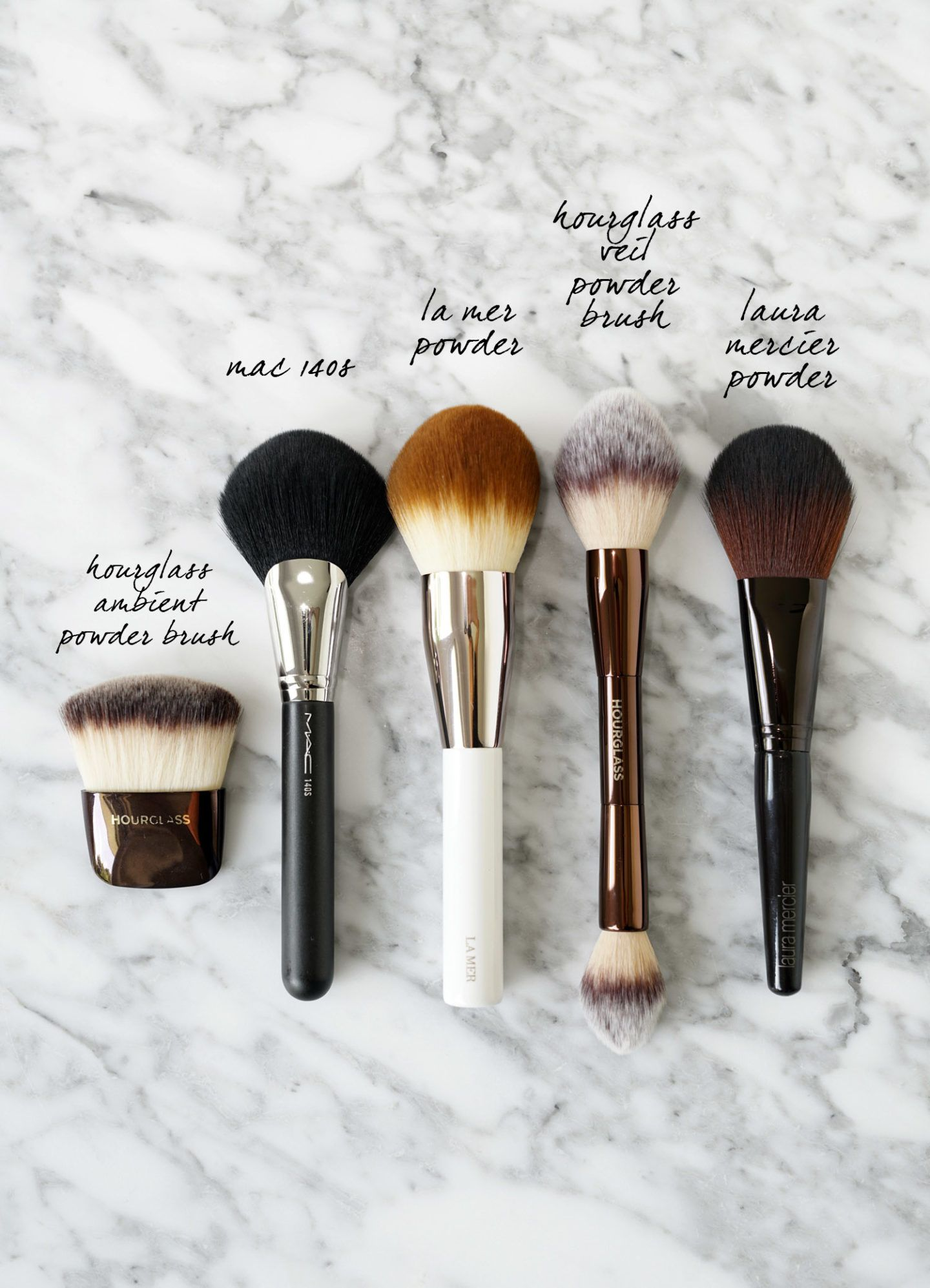 Top Makeup Brushes for the Face + Cheeks Powder makeup