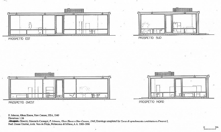 Guest House Plan And Elevation Awesome Download Custom Home Plans Az Philip Johnson Glass House Philip Johnson Glass House