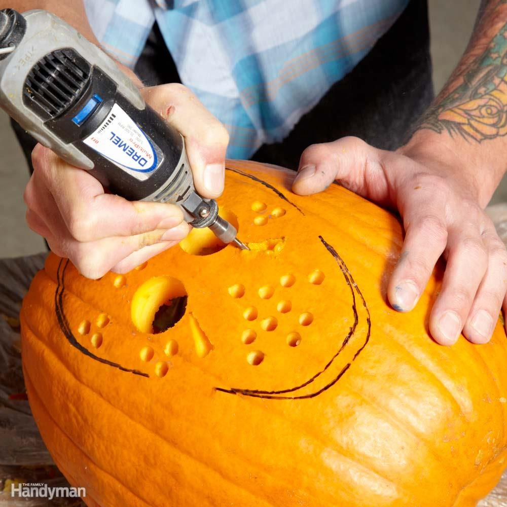 Pumpkin Carving With Power Tools Rotary Tool Pumpkin Carving Tools Pumpkin Carving