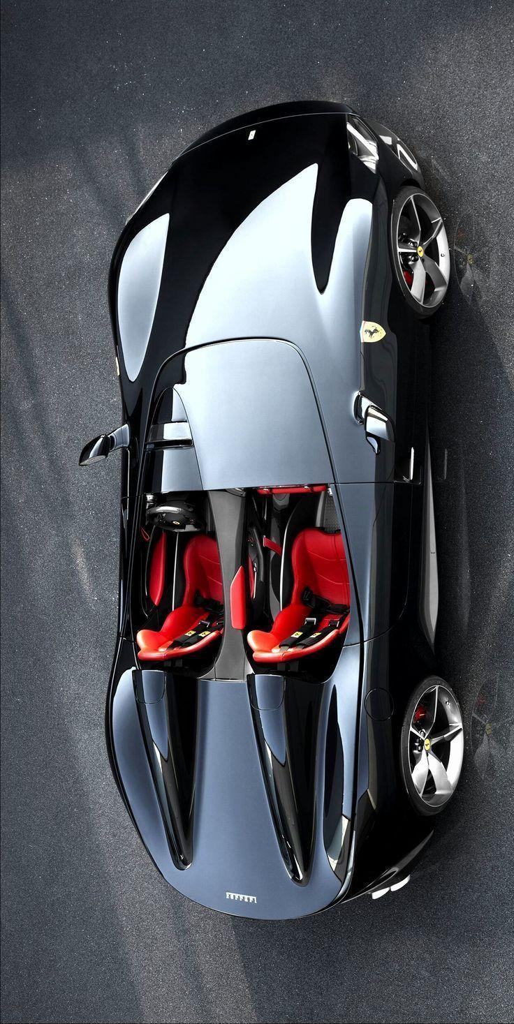 (°! °) Ferrari Monza SP2 Roadster - Augenweide - #eye willow #Ferrari #Monza ....