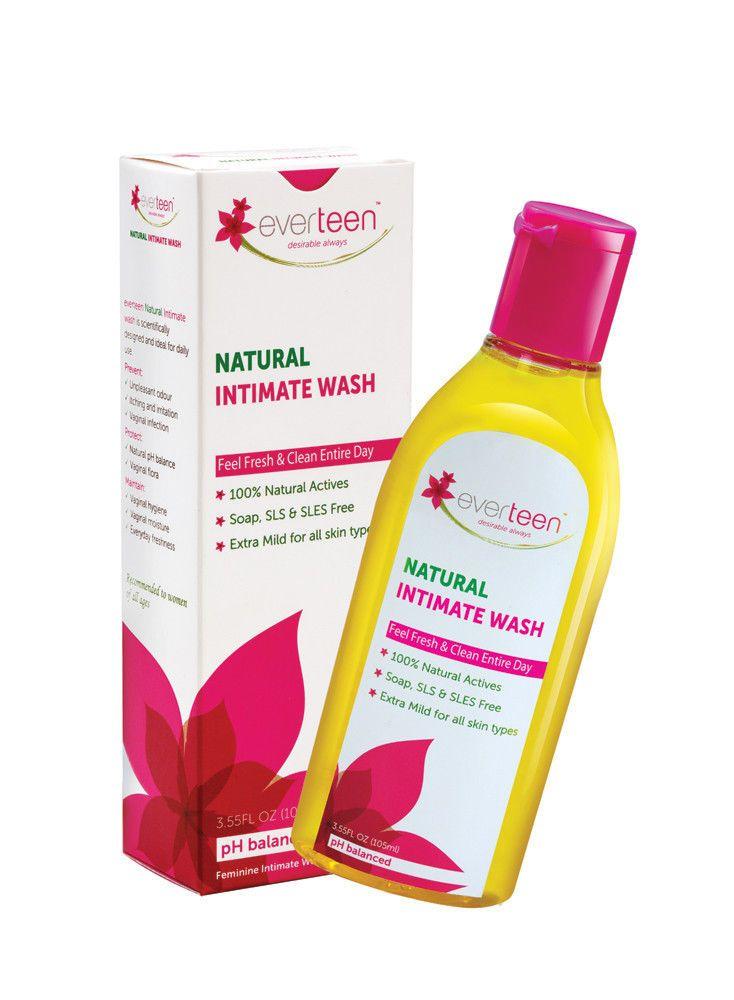 Everteen - Natural Feminine Intimate Vaginal Wash - PH ...