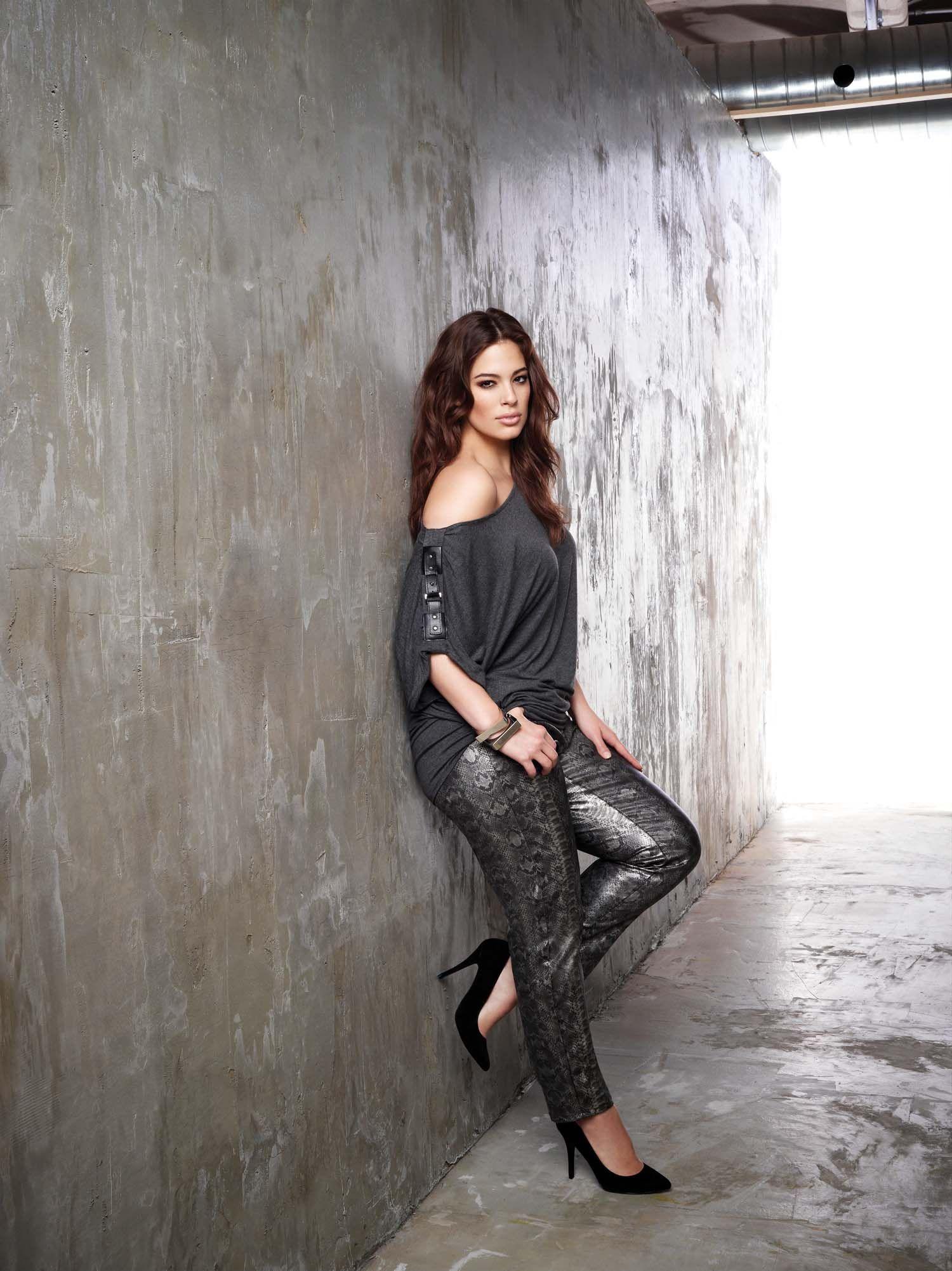Ashley Graham Designer Jeans Plus Size Addition Elle