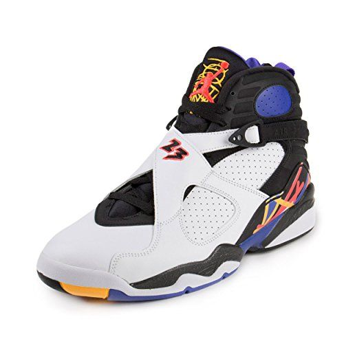 Nike Air Jordan Mens 8 Retro Basketball Shoe -- Visit the image link more  details