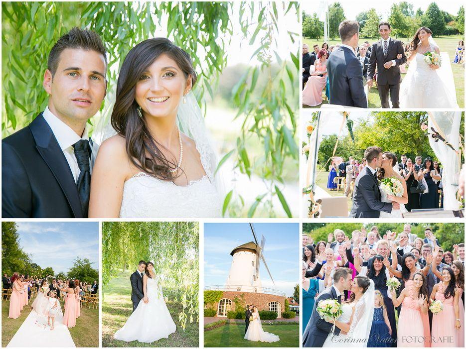Hochzeit In Der Elfrather Muhle In Krefeld Freie Trauung Draussen Im Obstgarten Hochzeit Park Hochzeitsfotograf Hochzeit