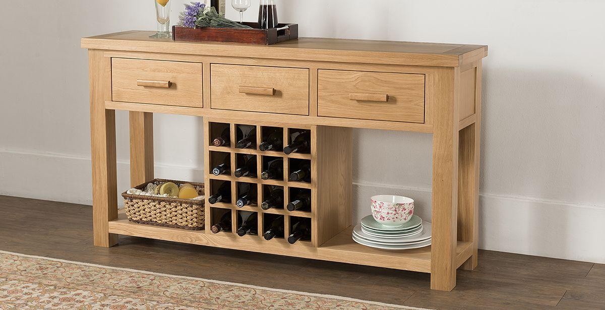 Image result for sideboards for dining room wine rack