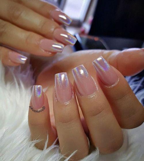 26 Impossible Japanese Nail Art Designs: Uñas Holográficas, Uñas