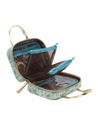 Stephanie Johnson Prague Ml Traveler Makeup Bag