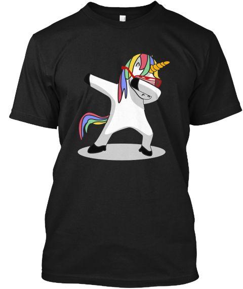 Dabbing Unicorn Shirt Dab Hip Hop Shirt