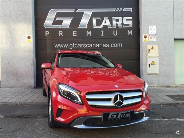 Mercedes Benz Clase Gla Todo Terreno Gla 200 Cdi Urban Diesel De Color Rojo Del Año 2015 Con 800km En Las Palmas Mercedes Benz Mercedes Todo Terreno