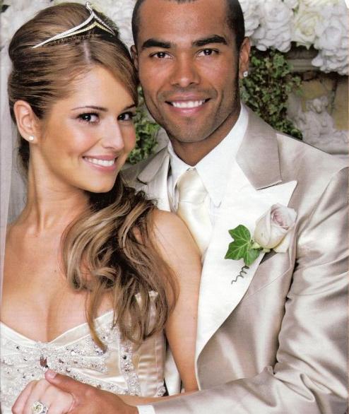 Cheryl Cole Wedding Hairstyle: Cheryl Tweedy & Ashley Cole