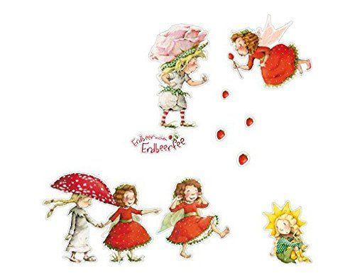 Wandtattoo Erdbeerinchen Erdbeerfee Erdbeerinchen, Ida un... https://www.amazon.de/dp/B01FMH4AGU/ref=cm_sw_r_pi_dp_x_zFIAybSQEC48G