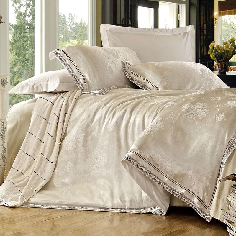 KOSMOS 100 cotton wedding design your own bed sheets set View