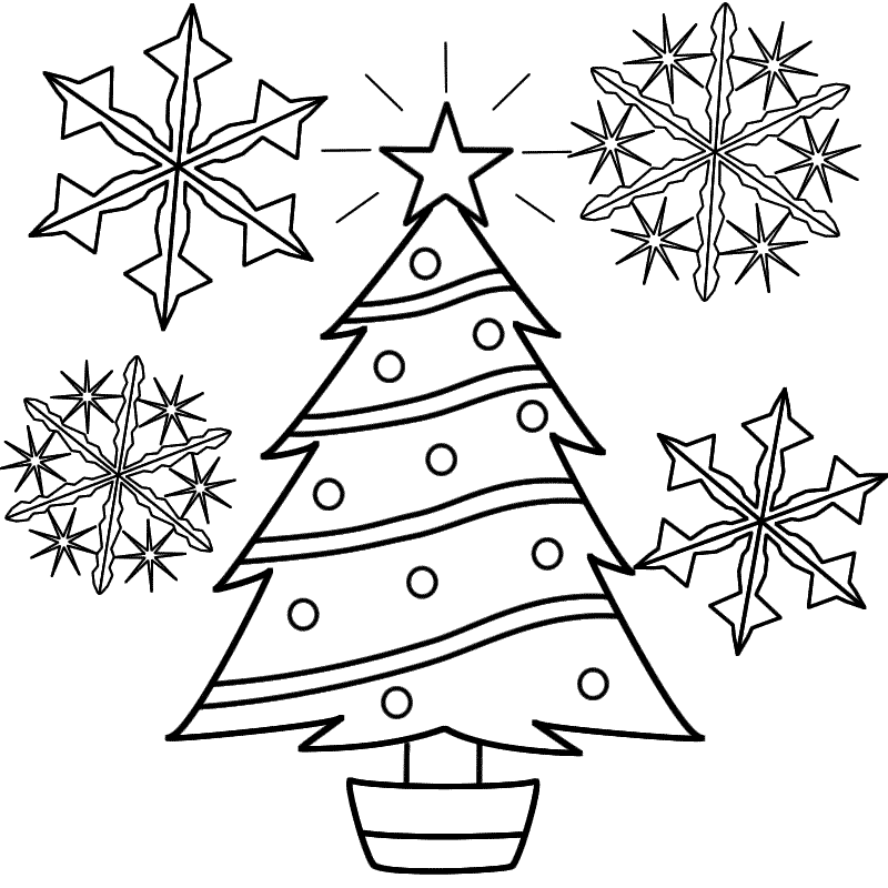 Free Printable Snowflake Coloring Pages For Kids Printable Christmas Coloring Pages Christmas Tree Coloring Page Snowflake Coloring Pages