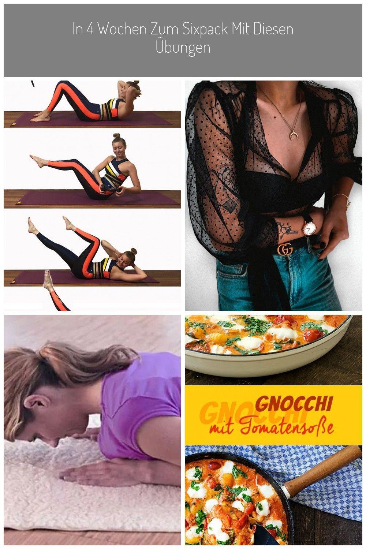 Sixpack: Diese 4 Fitnessübungen machen es möglich! #sport #fitness #wellness #sixpack #clean water I...