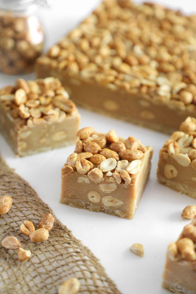 Salty Peanut Bars | Sprinkle Bakes | Bloglovin'