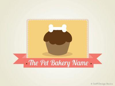 A Cute Pet Treat Logo Design Idea Sweet I Premadepetlogo I Readymadepetlogo I Petbusinesslogo I Petlogodesi Pet Businesses Pet Logo Design Pet Branding