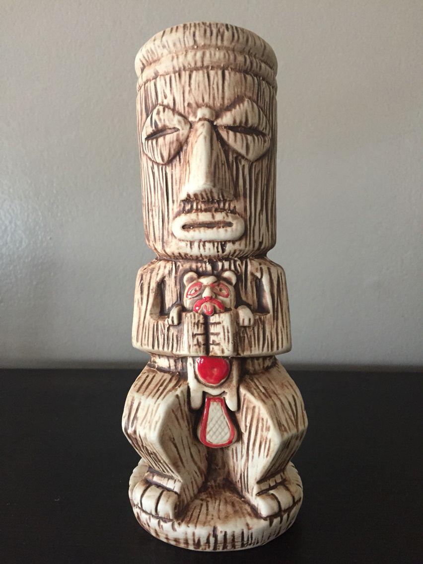 Shameful Tiki Room's latest tiki mug by Munktiki