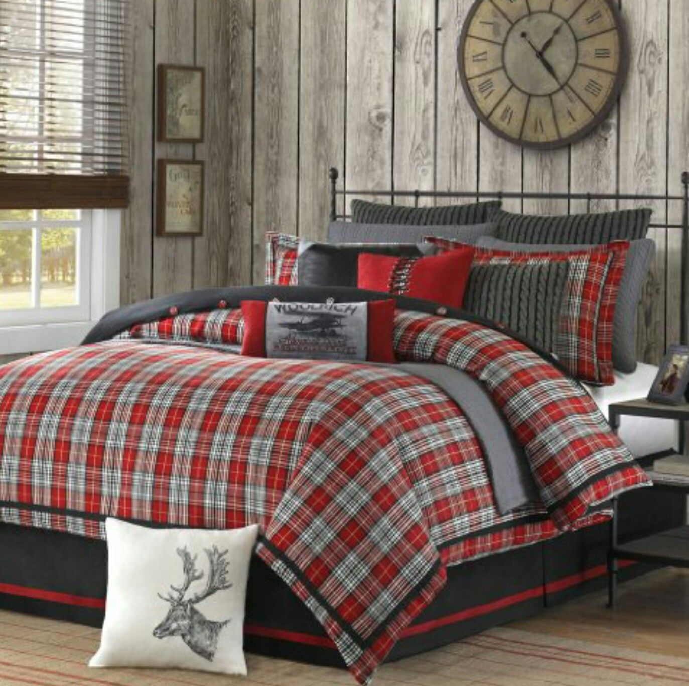 Idea by Jackie Howell on Bedding Ideas For Men Lodge