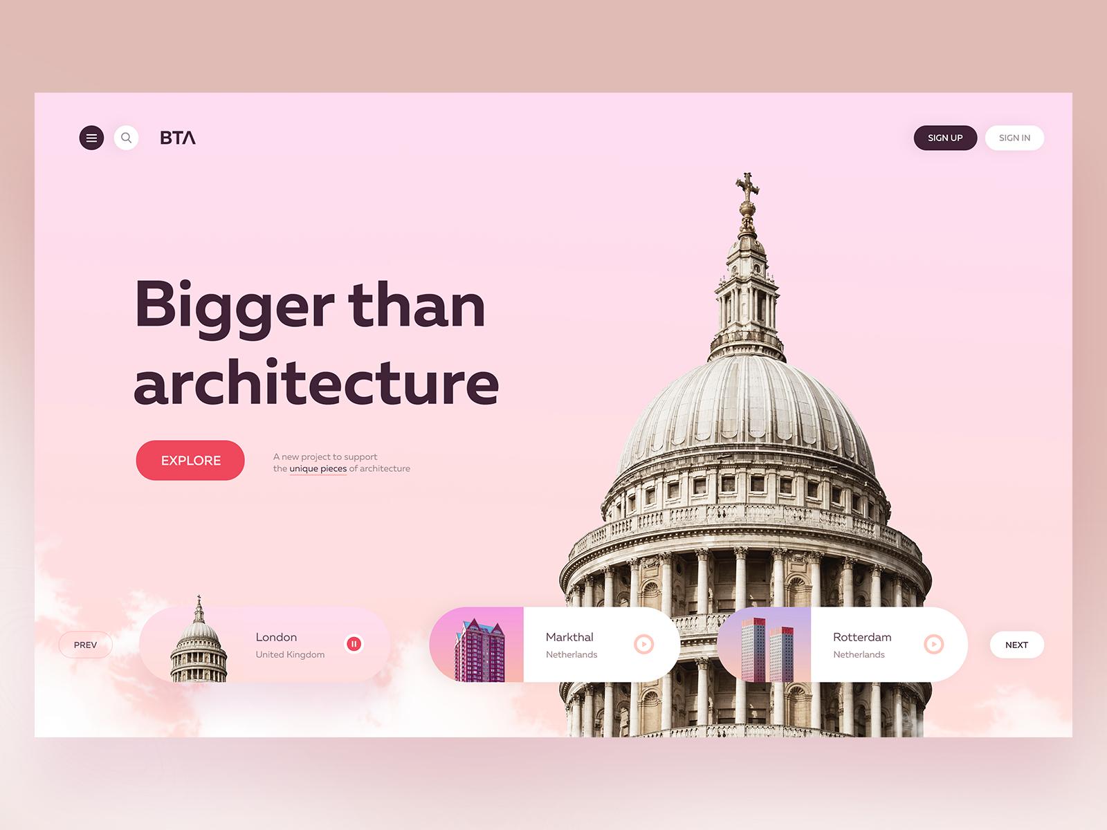Bta Concept Website Design Web Design Web Inspiration