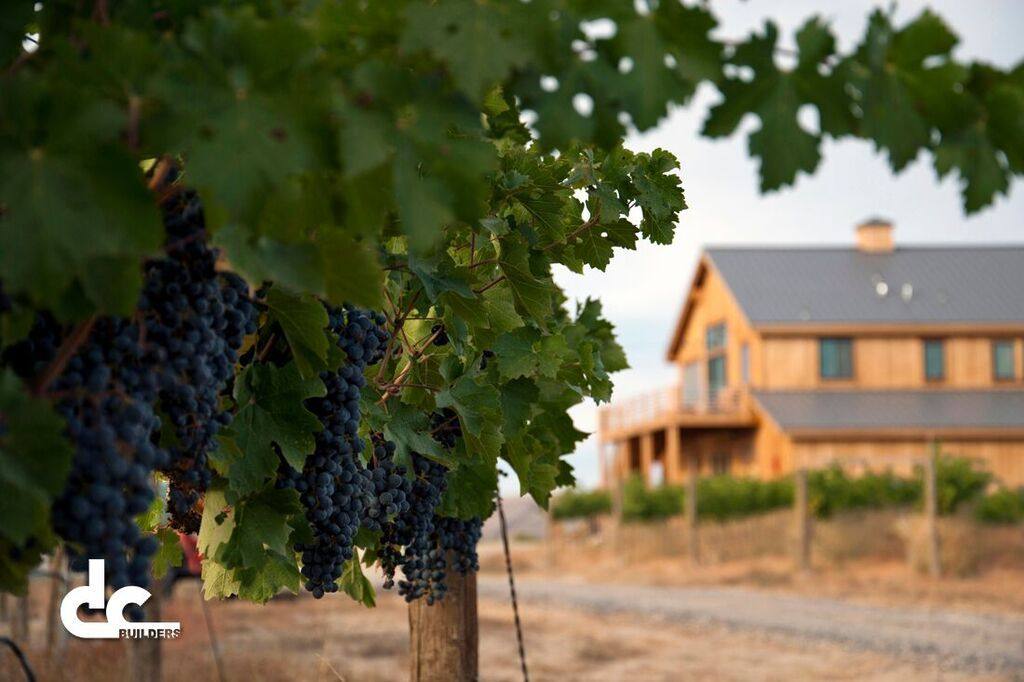 This winery with living quarters was built by DC Building in Benton City, Washington