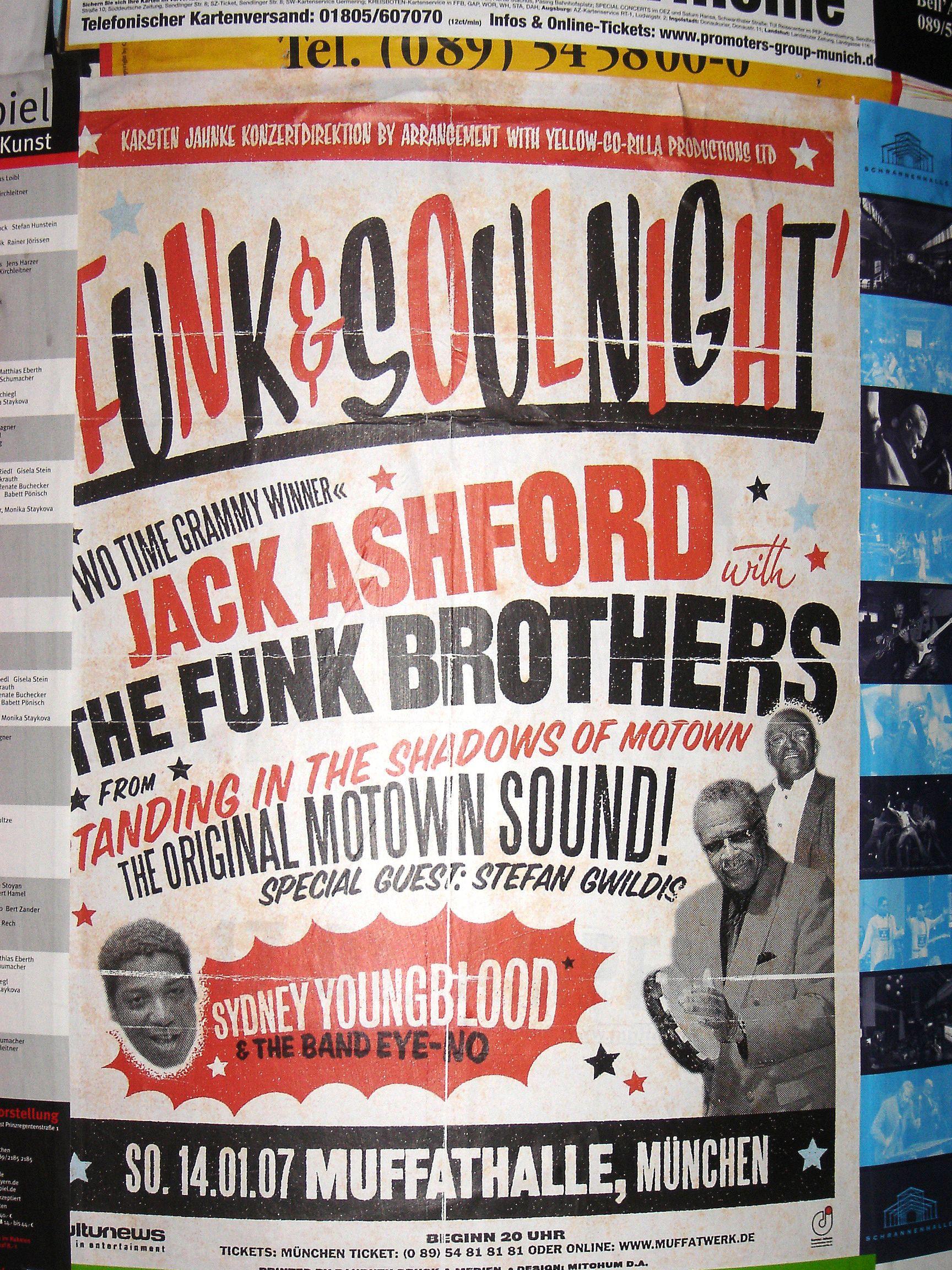 Design poster for concert - Concert Posters