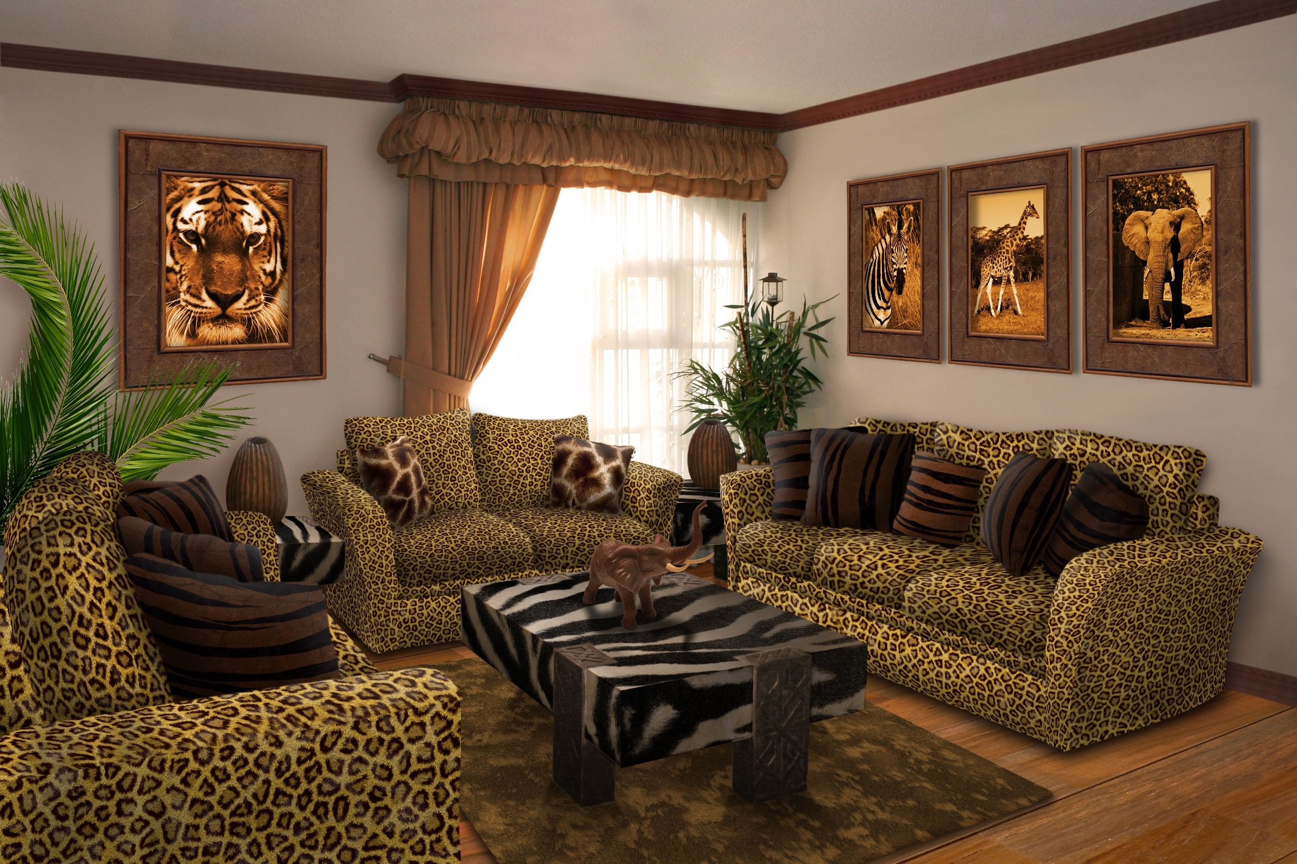 African Style Living Room Design Endearing Jungle Decorations For Living Room  Httpclubmaraton Decorating Design