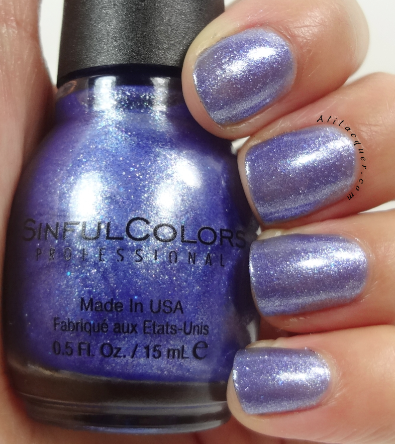 Sinful Colors - Ice Blue | NAILS - SINFUL COLOR SWATCHES ...