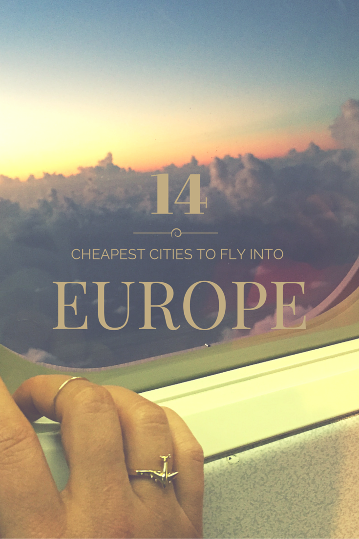 , The Cheapest Cities in Europe to Fly Into, My Travels Blog 2020, My Travels Blog 2020